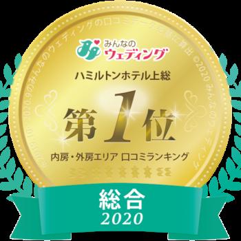 2020年口コミランキング 【内房・外房エリア】 総合 1位受賞